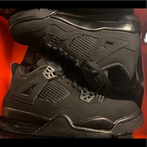 Air Jordan 4 Black Cat 5.5Y
